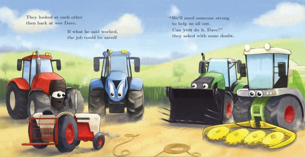 Tractor Dave sample page2