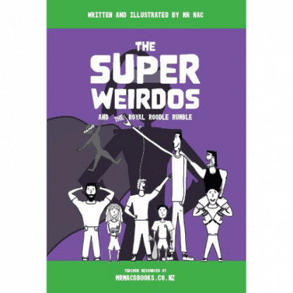 The Super Weirdos and the Royal Roodle Rumble
